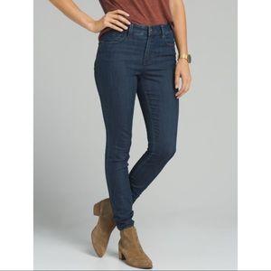 Prana   High Rise Indigo Oday Skinny Jeans Sz 27
